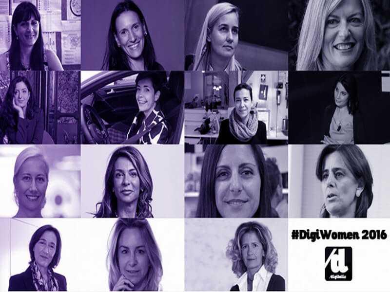 DigiWomen: le 15 donne che rappresentano l'eccellenza femminile