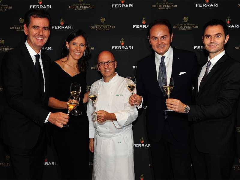 Heinz Beck e Famiglia Lunelli