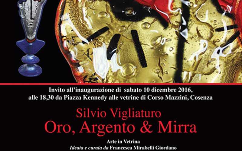 Silvio Vigliaturo: Oro, Argento e Mirra. Il maestro del vetro presenta nuova collezione