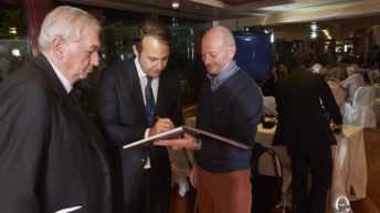 Eccellenze Italiane - da sinistra: Antonio Cerciello, Danilo Iervolino, Silvio Vigliaturo