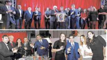Volley femminile: feste degli auguri a Piacenza assieme a tutto il gruppo Nordmeccanica