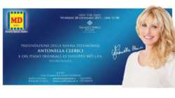 Antonella Clerici, testimonial Md