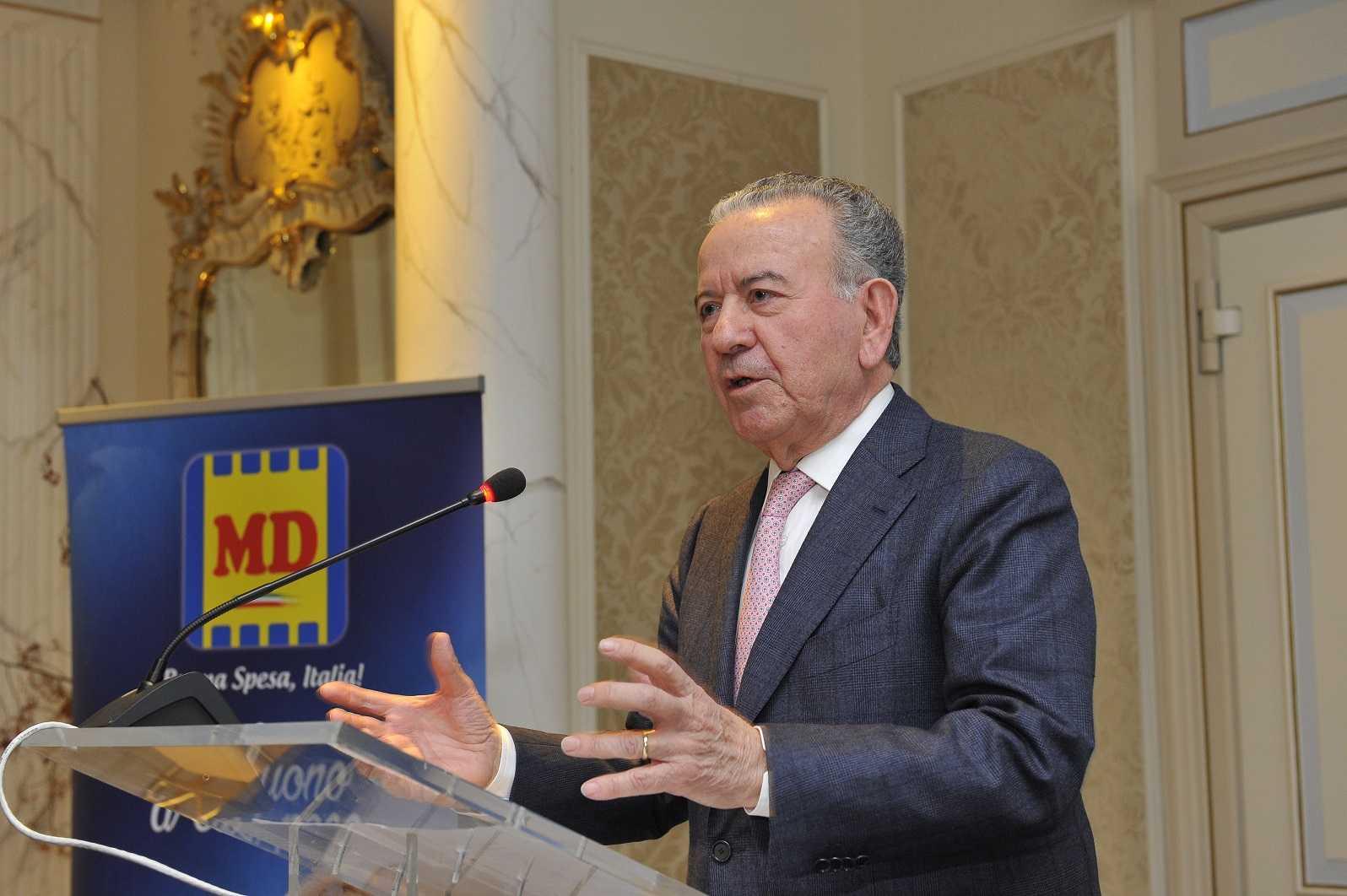 Cav Patrizio Podini Presidente MD S.p.A.