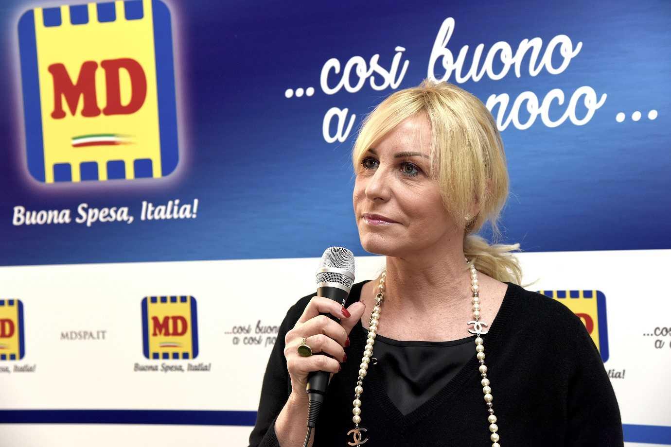 Antonella Clerici, la nuova testimonial MD