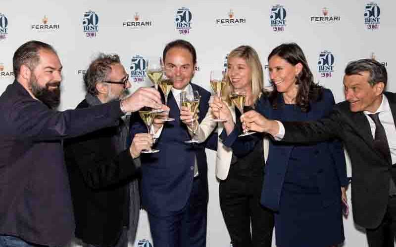 Cantine Ferrari e The World's 50 Best Restaurants