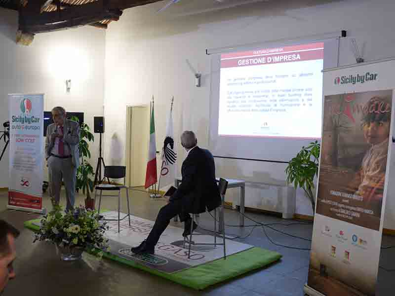 Sicily by car, la storia di Tommaso Dragotto. Nel video la sintesi del convegno