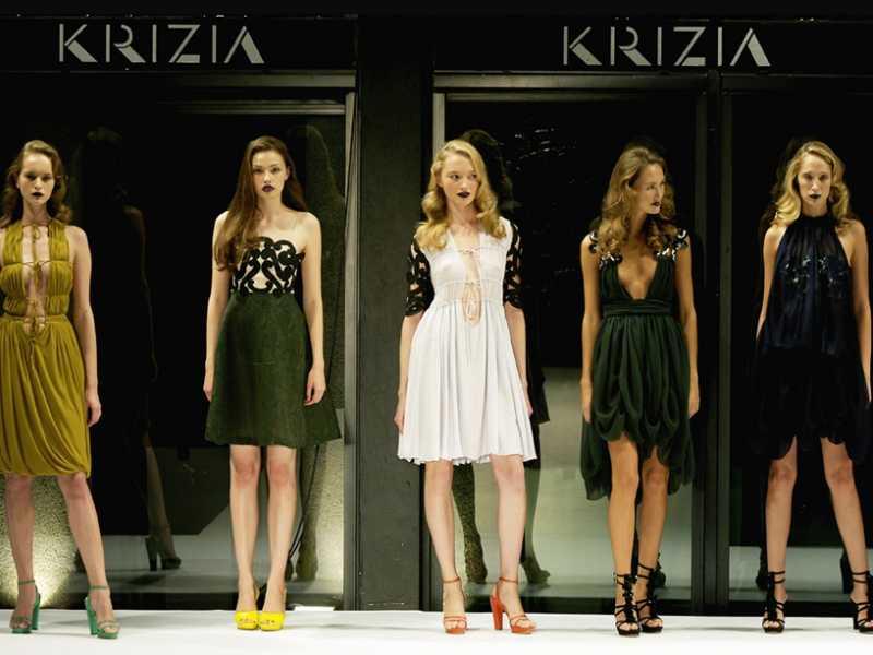 Krizia, moda italiana