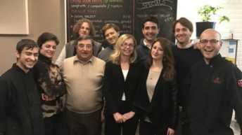 Fucsia Fitzgerald Nissoli, Una settimana tra i giovani italiani negli USA
