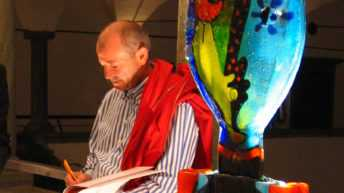 """Le opere di Silvio Vigliaturo al Museo del Cristallo di Colle di Val D'Elsa con la mostra """"La via del vetro"""" - 8 Aprile - 27 agosto 2017"""