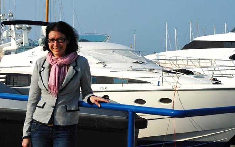 Barbara Amerio, ambasciatrice del made in italy in Kuwait
