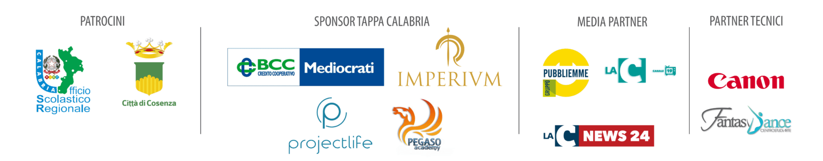 sponsor cosenza 2 Eccellenze Italiane