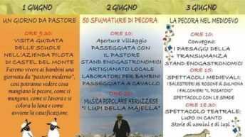 Borgo Le Pagliare: un recupero d'eccellenza. Pastorizia in tour dall' 1 al 3 Giugno