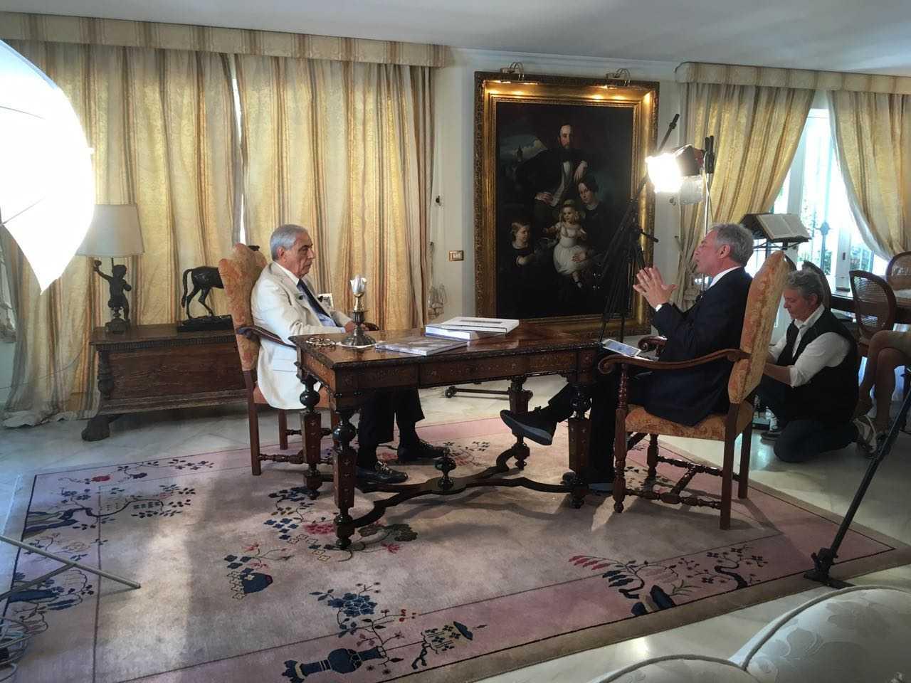 Tommaso Dragotto e Piero-Muscari: un totale del set