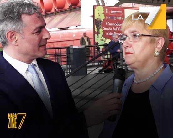 Eccellenze Italiane ritorna su La 7, con lo speciale su Lidia Bastianich Sabato 17 Giugno ore 12-45 su la 7 nel programma Magazine 7