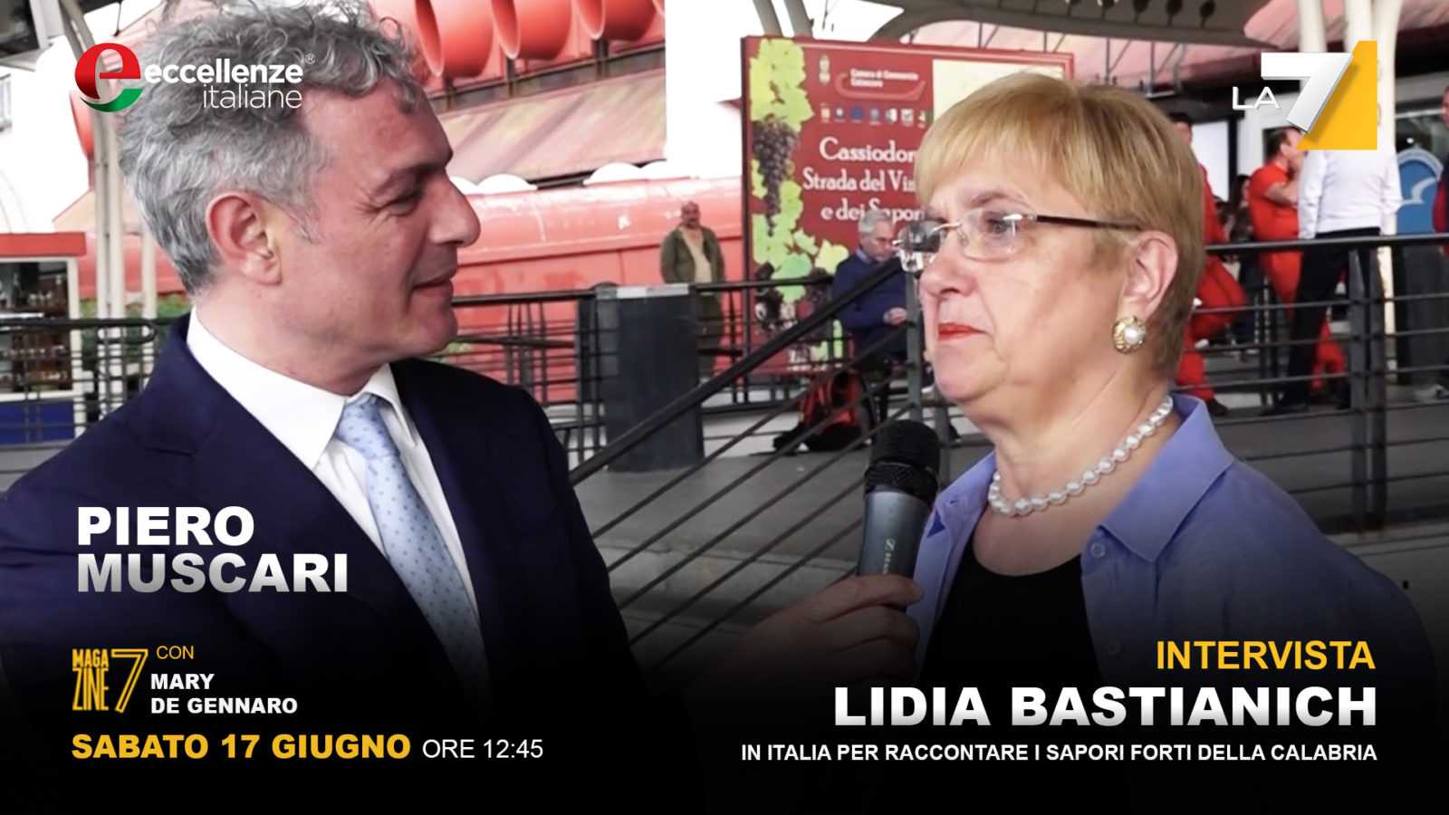 Puntata di Eccellenze Italiane – Speciale Lidia Bastianich