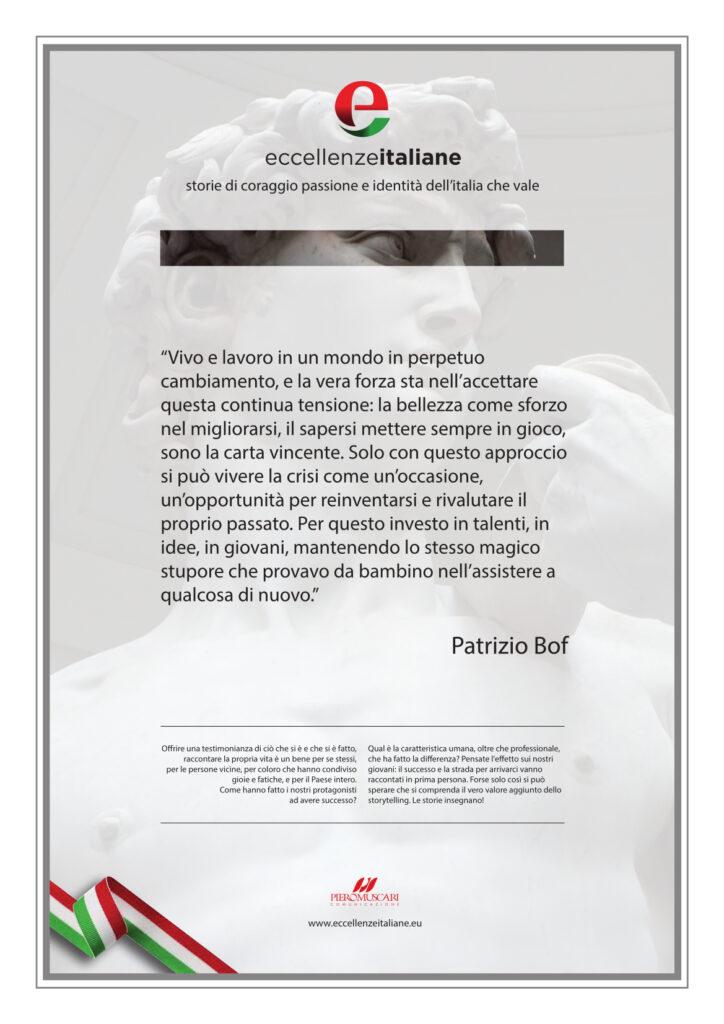 La pergamena di Patrizio Bof