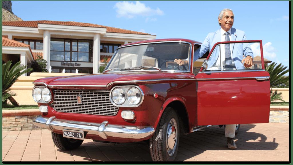 Tommaso Dragotto e auto d'epoca di Sicily by car