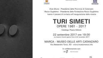 Mostra di Turi Simeti: al museo diretto da Rocco Guglielmo dal 22/09