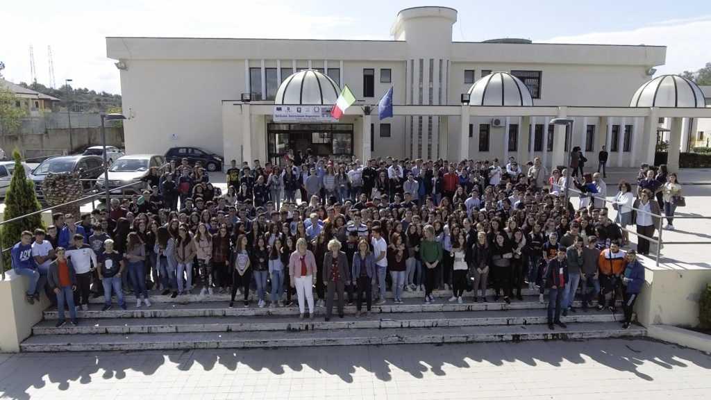 Mariarosaria Russo e studenti Piria
