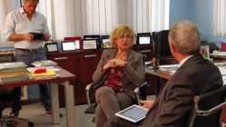 Eccellenze Italianeoggi sul set con Maria Rosaria Russo
