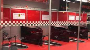 Keope World ancora una volta sarà a fianco del Team Rossocorsa. Con il box Human Instant Recovery Ferrari Challenge, finali mondiali 26 - 29 ottobre Autodromo del Mugello