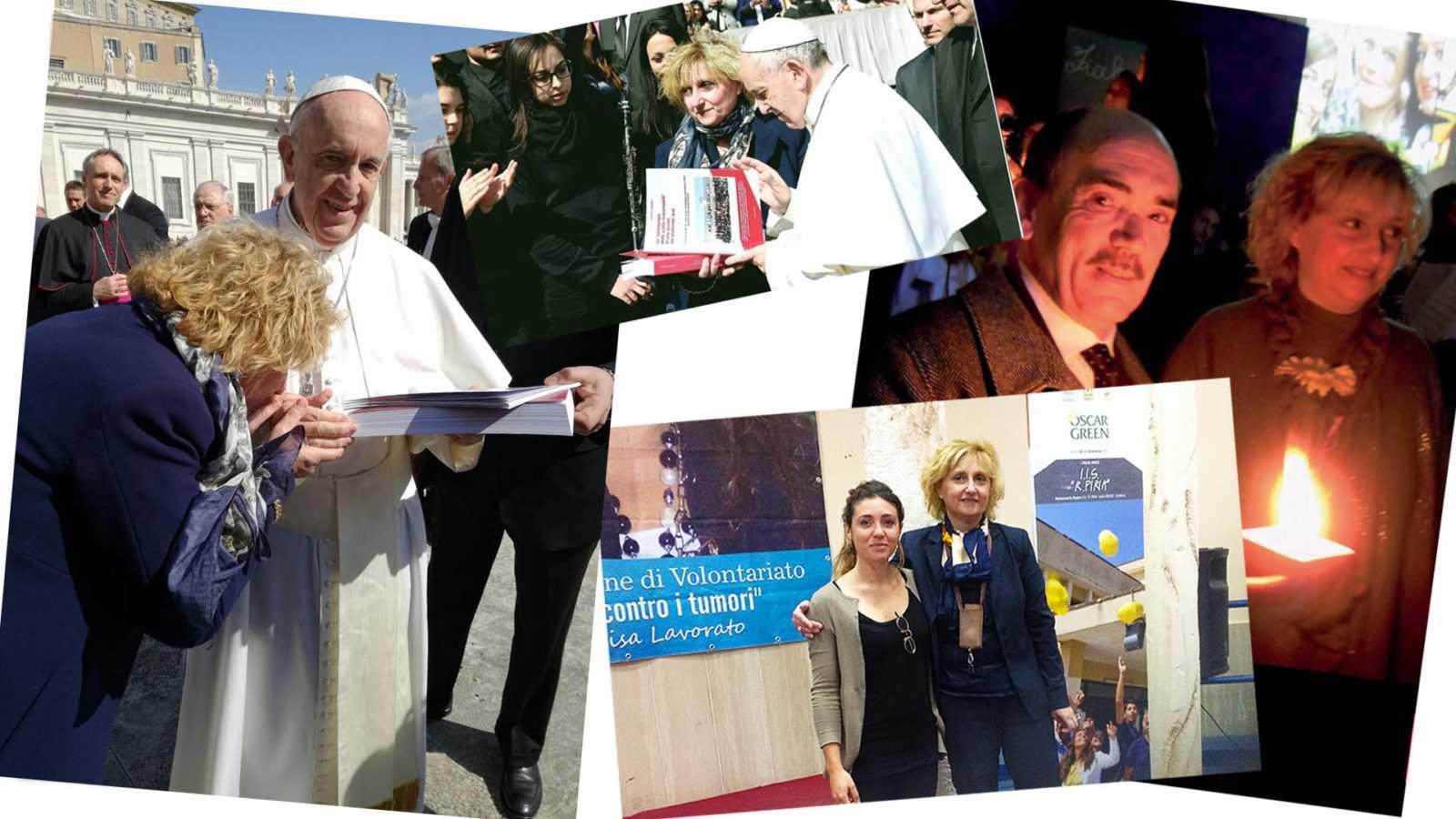 Maria Rosaria Russo - foto incontro con il papa e vari eventi