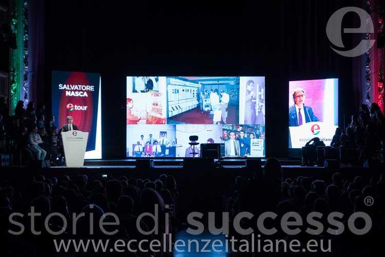 salvatore nasca Etour palermo totale palco Eccellenze Italiane