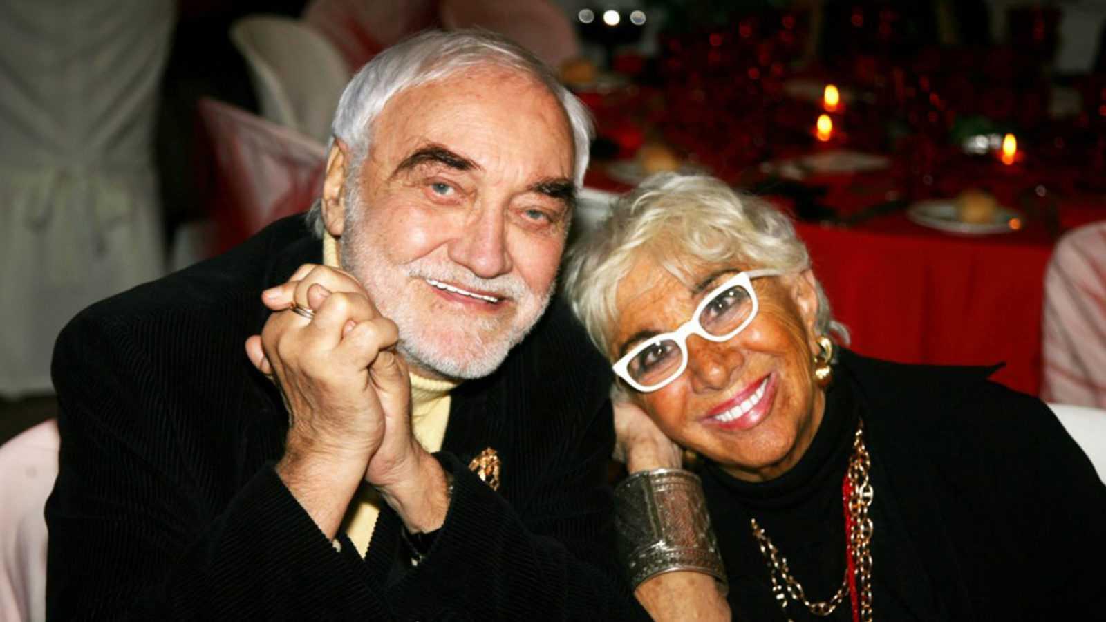 Lina Wertmüller e marito