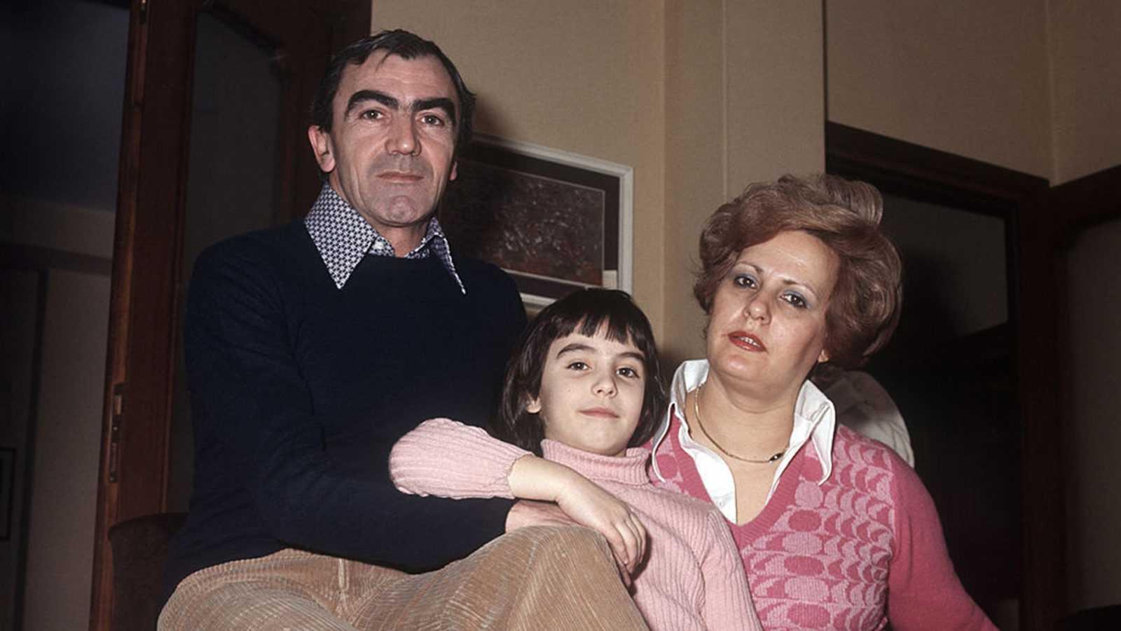 Carlo Rambaldi e famiglia