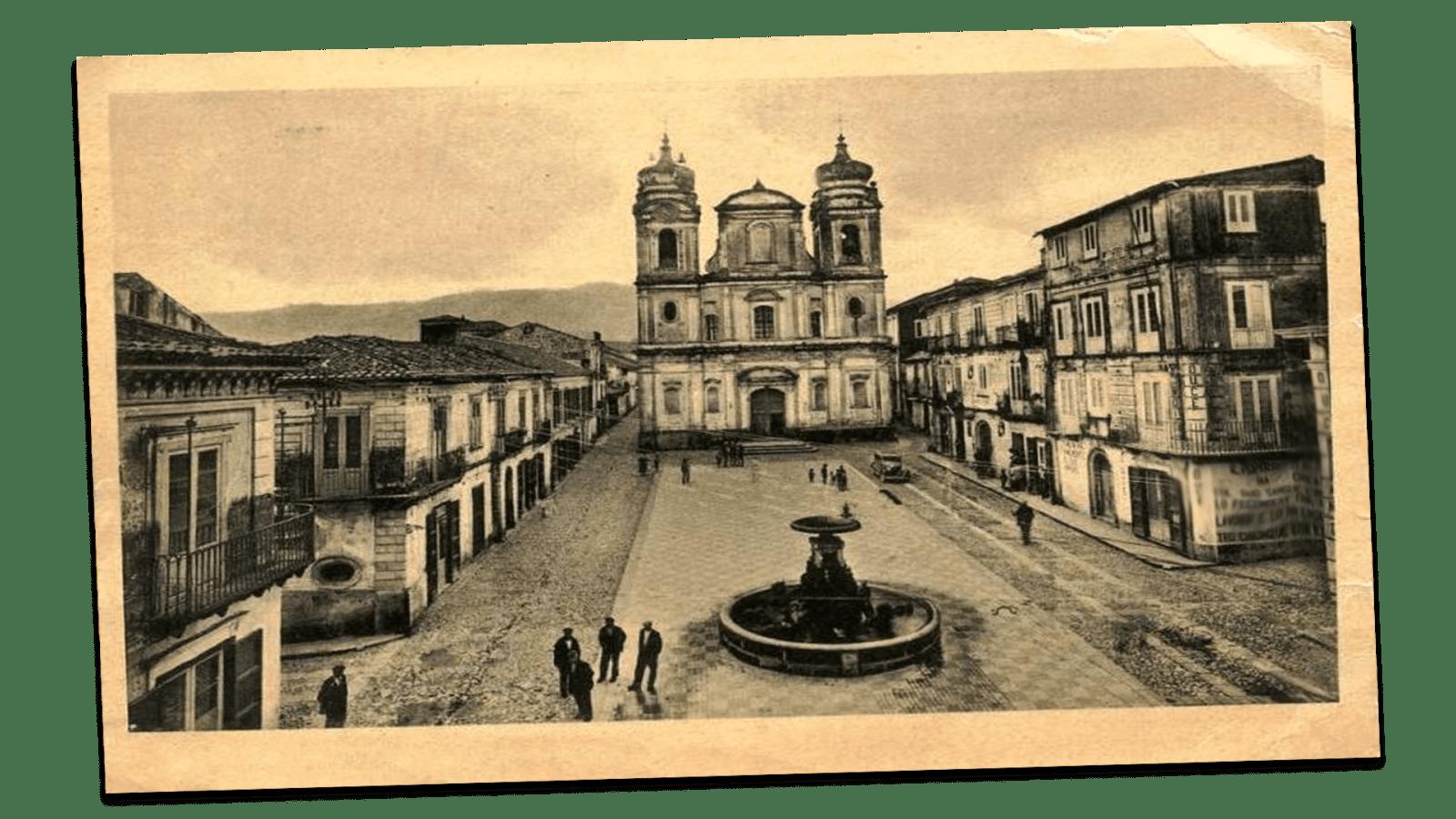 Cittanova- cartolina-anni50