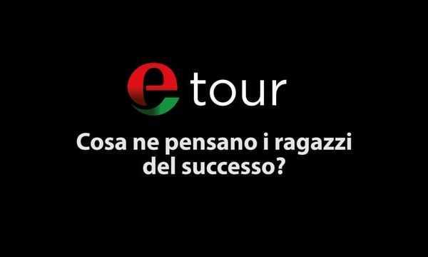 Etour Palermo; Cos'è il successo secondo gli studenti?