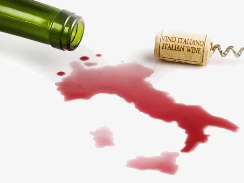 Made in Italy, vino- il 2017 anno record export