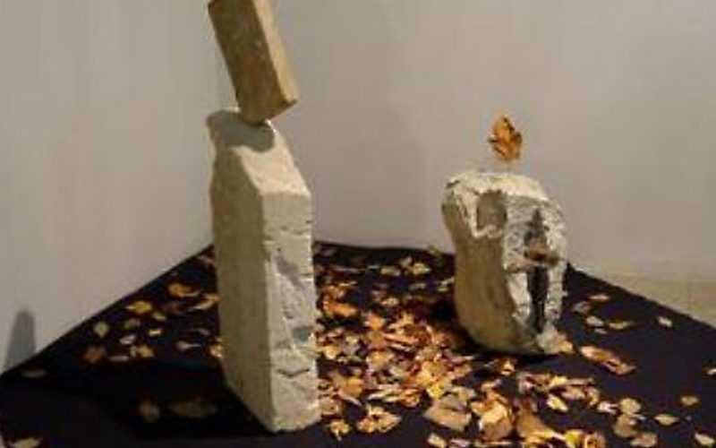 Opere d'arte realizzate con resti terremoto Amatrice