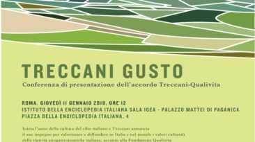 Treccani Gusto, nasce il progetto per promuovere la cultura del cibo italiano