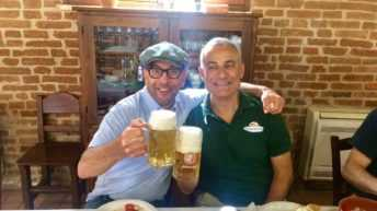 """Carmelo Basile con Fattoria della Piana sbarca sulla Tv americana nella quarta puntata del fortunato programma""""Eat! Drink! Italy!"""""""