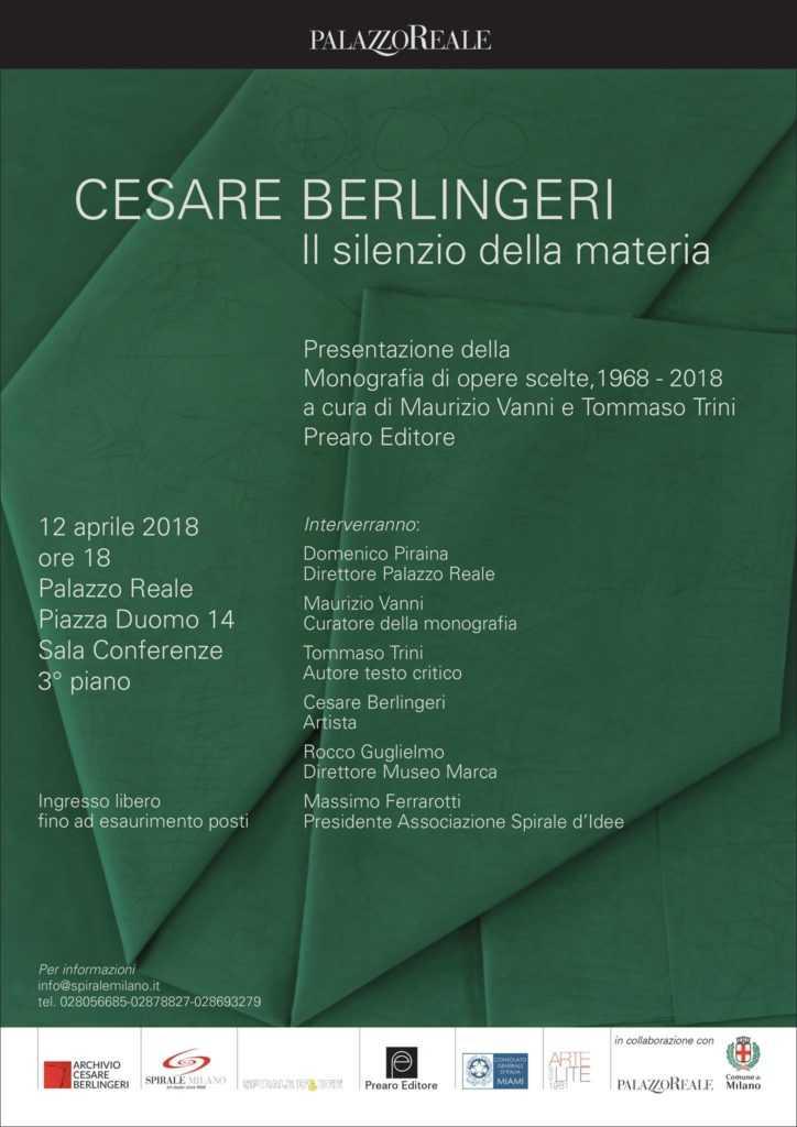 volume darte cesare berlingeri locandina Eccellenze Italiane