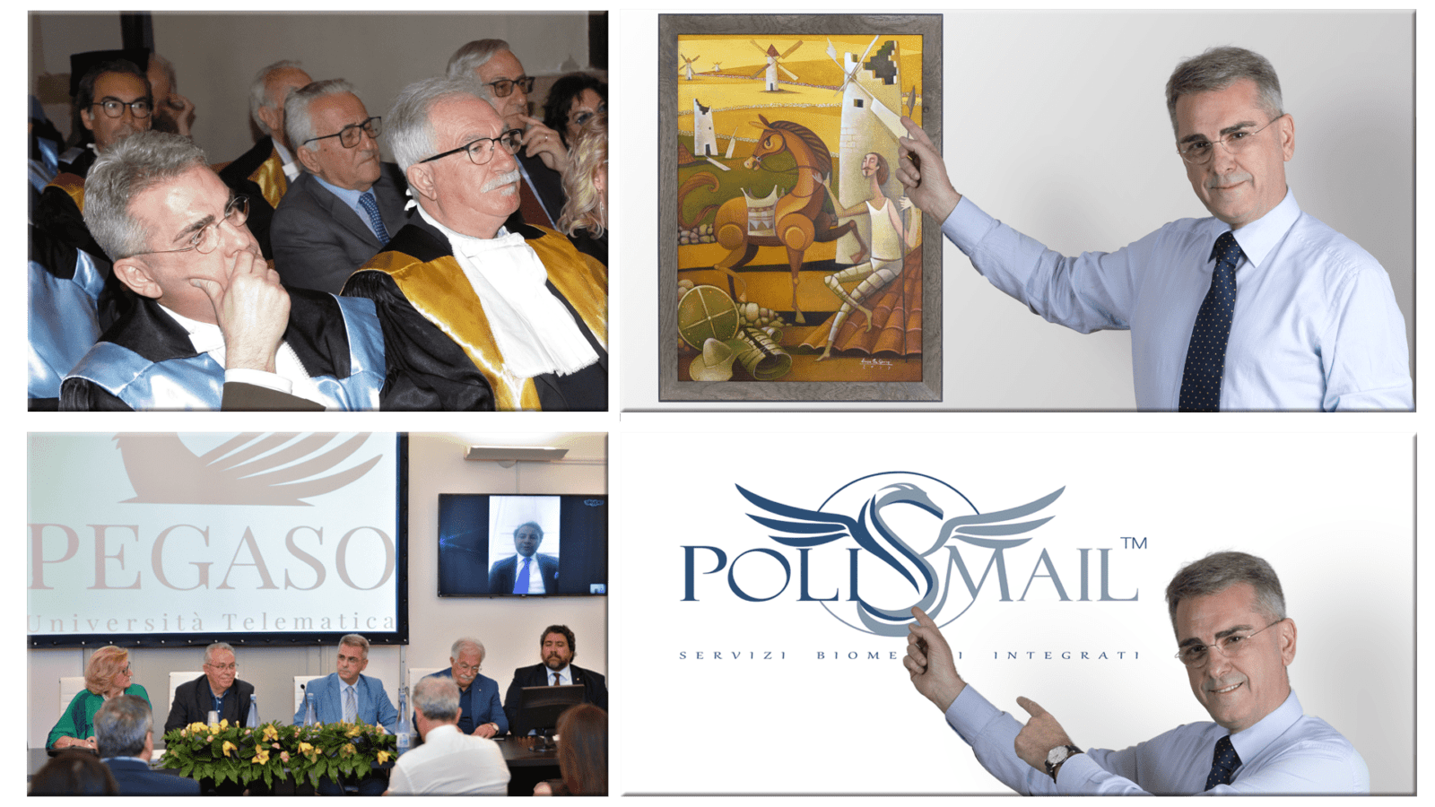 Mauro Minelli Polismail, Pegaso, Don chisciotte