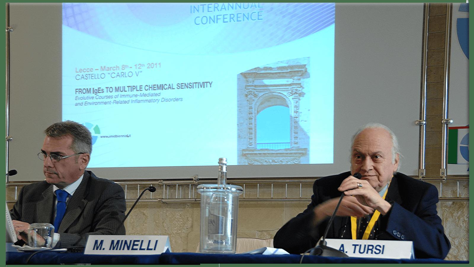 Mauro Minelli e A. Tursi