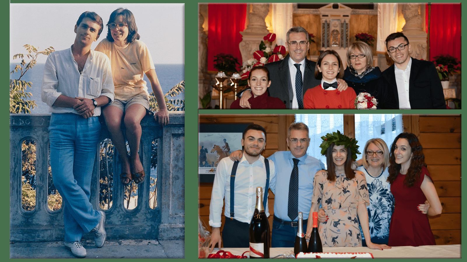 Mauro Minelli e Famiglia: con moglie e con figli