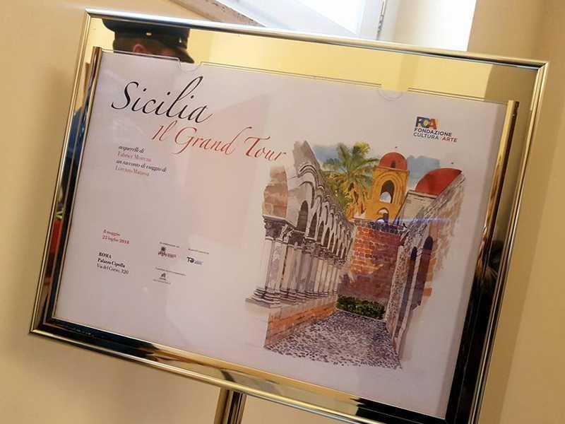 Mostra La Sicilia - Il grand tour