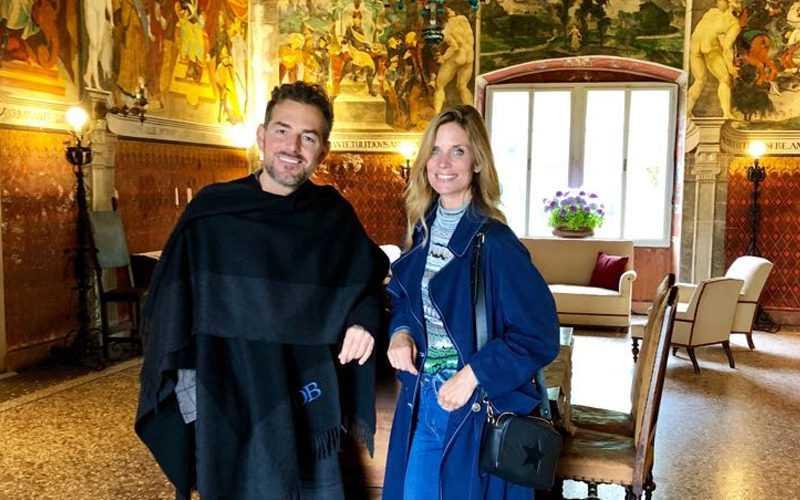 Le bollicine Ferrari al matrimonio di Filippa Lagerback e Daniele Bossari