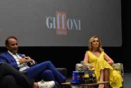 Pegaso Cinema Academy debutta al Giffoni. Nella foto Danilo Iervolino e Serena Autieri