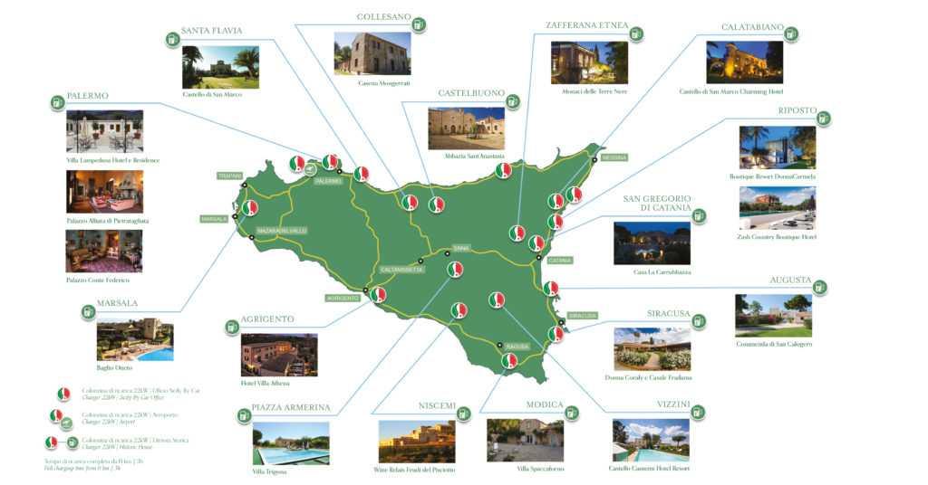 Mappa Donna Sicilia Eccellenze Italiane