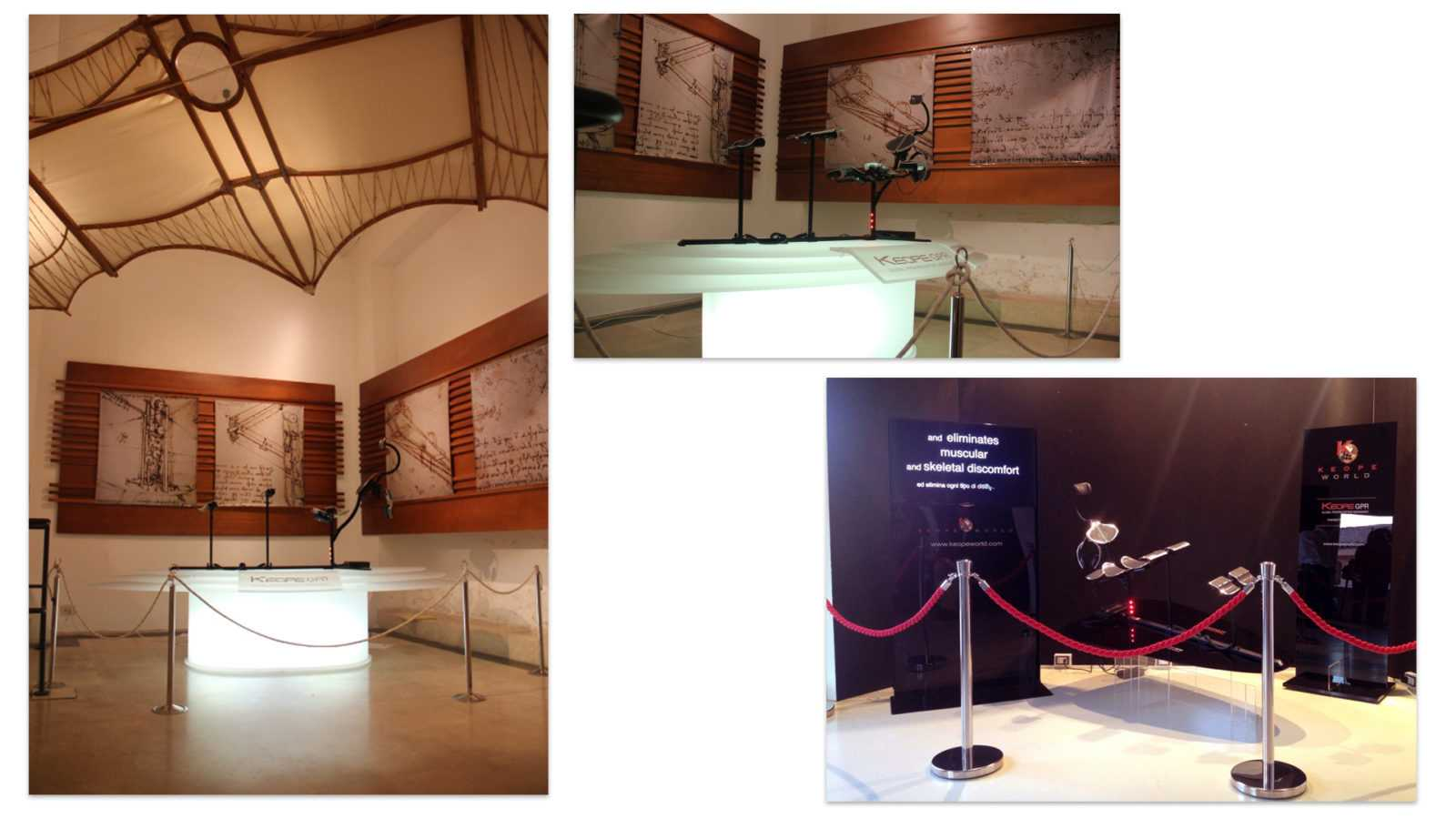 Keope museo leonardo mdm Museum 1 Eccellenze Italiane