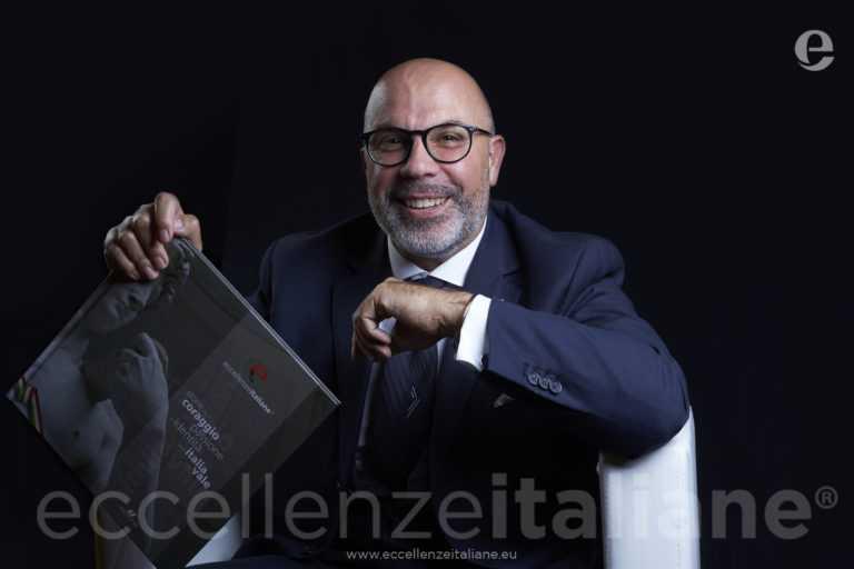 Paolo Tedeschi di Canon(Digital Imaging Partner )- Volume Eccellenze Italiane- (ed.2017)