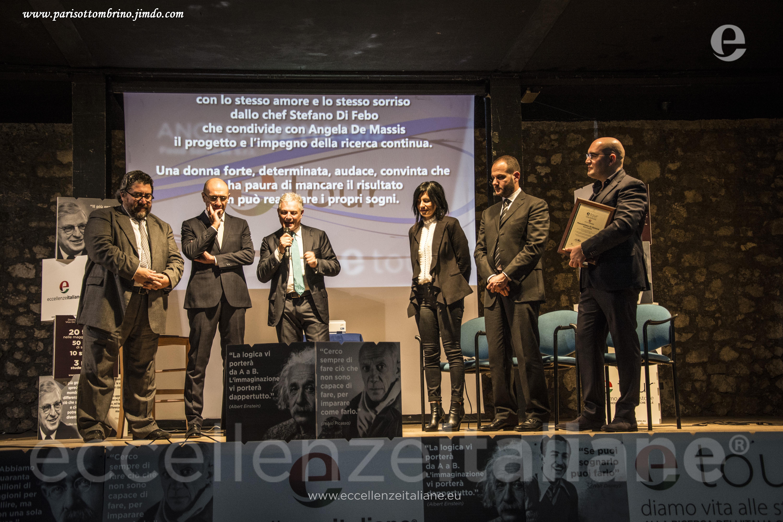 DA SX: Di Carlo, Ottombrino, Muscari, Maurizio, de Massis, di Genova. Lettura motivazioni