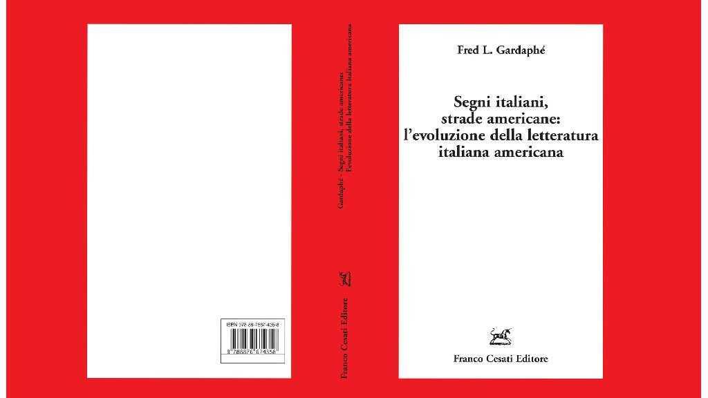 segni italiani di fred gardaphe Eccellenze Italiane