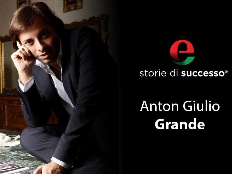 Anton Giulio Grande, lo stilista delle dive