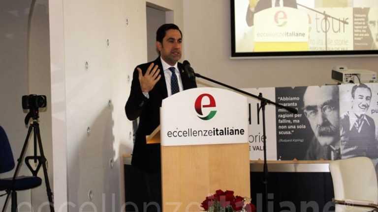 Domenico Furgiuele, politico italiano di Lamezia Terme, ha partecipato alla settima tappa di Etour.