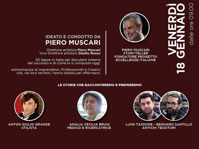 Etour Lamezia Terme, il 18 Gennaio 2019 la settima tappa del tour di Eccellenze Italiane
